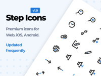 Step Icons UI8