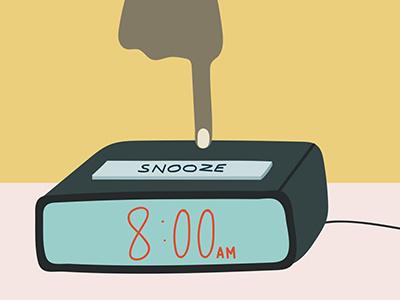 Snooze alarm clock button yawn sleepy morning alarm sleep snooze