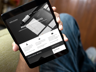 Personal Website: Homepage