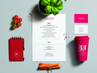 Restaurant Identity identity seal corporate minimal typography logo coffee stationery branding