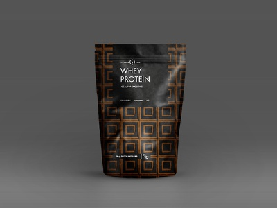 Protein Packaging drink bag logotype logo vitamin gym fitness