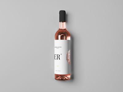 Zarra's Wine lgotoype wine logomark mark diecut sticker logo packaging label bottle