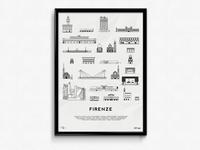 Firenze Icons Print