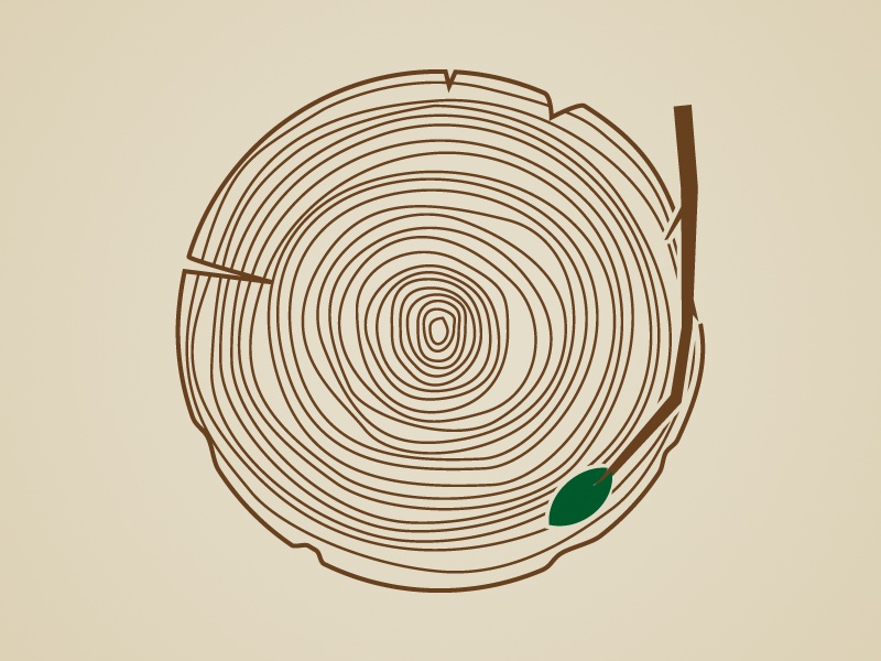 Listen To Nature Tree Ring Record By Michael E Smith On Dribbble