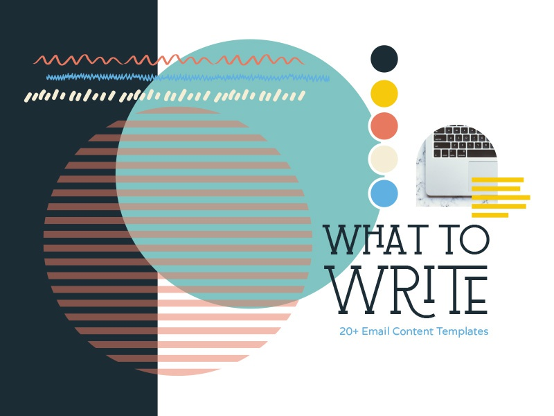 What to Write Styles styles brand course 50s saul bass retro colors email