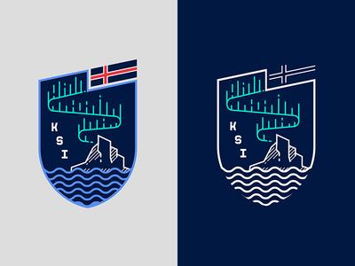 Iceland Soccer Crest