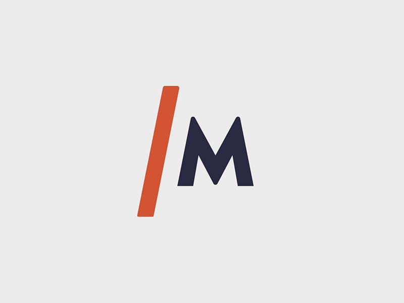 Integrative Man Logo m logomark brand and identity branding brand logo