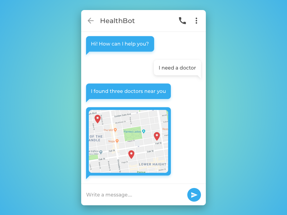 Direct messaging app messaging message app messaging app message clean app blue and green blue simple design ui daily ui daily 100 challenge daily 100