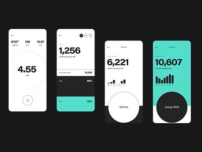 run the fat ios design ui app running minimalist