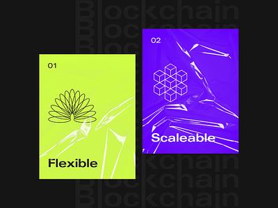 Blockchain visuals exploration... layout ui clean design minimalist clean cryptocurrency crypto blockchain