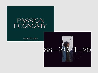 Passion Economy layouts exploration photography fashion layout website webdesign web clean minimalist design ui