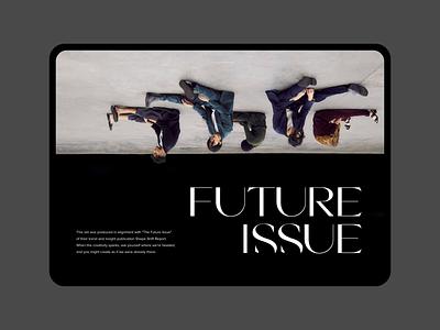 Passion Economy Previews photography fashion layout website webdesign web clean minimalist design ui