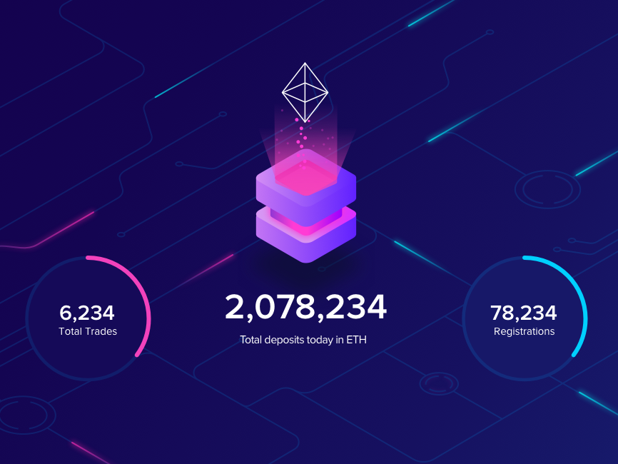 Blockchain transactions display transactions cryptocurrency blockchain design ui