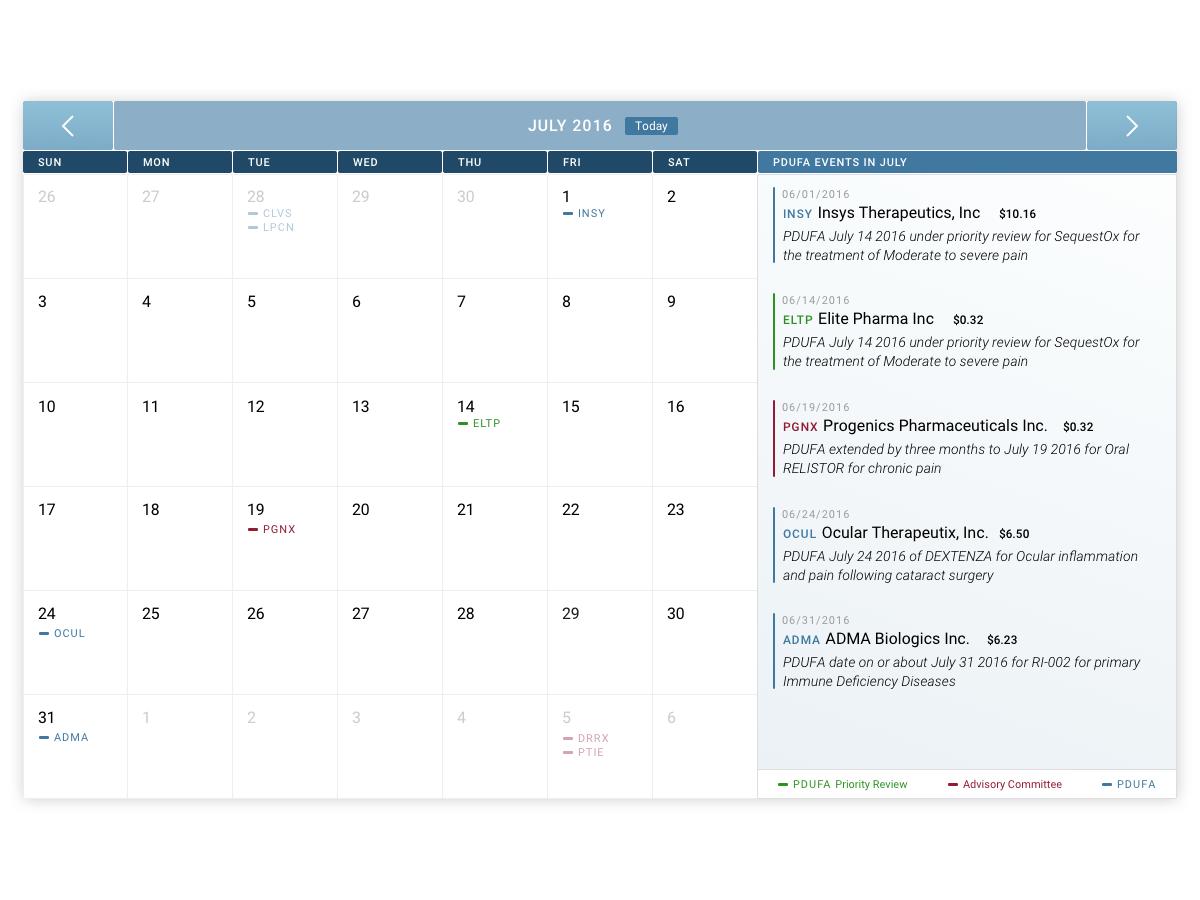 Calendar lg