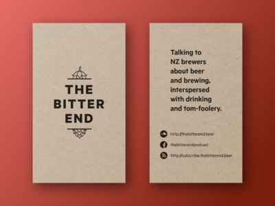 The Bitter End craft beer podcasting brewing beer