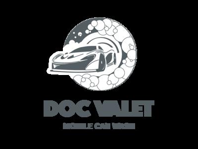 Doc Valet logo BW