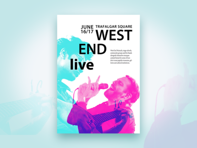 Poster West end live
