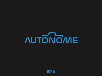 Day 5 Autonome mark flat dailylogochallenge branding logo