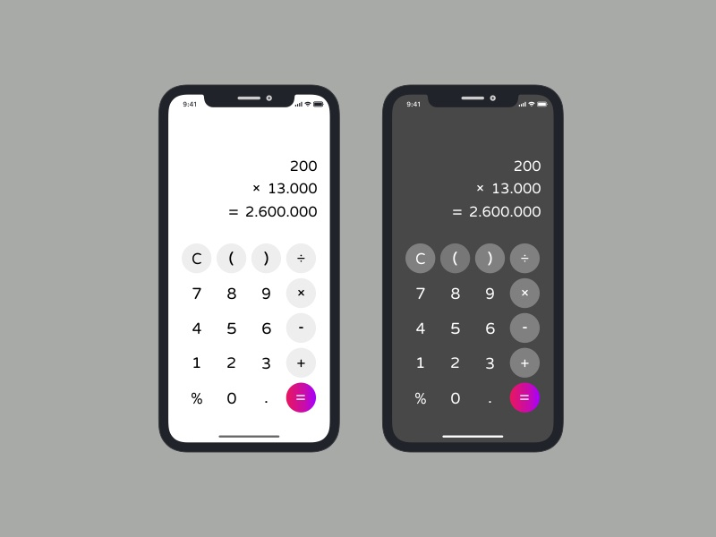 Day 04 - Calculator uxinspiration uxdesign userinterface uidesign designinspirations day003 dailyui