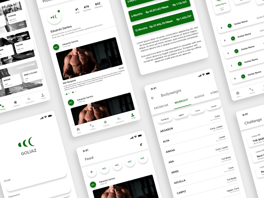 Redesign Goliaz Apps