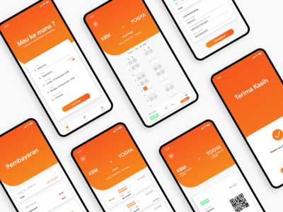 Bus Ticketing App Concept