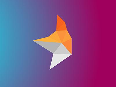 Fox v02 / 10 triangles challenge inspiration icon polygons triangles illustration fox