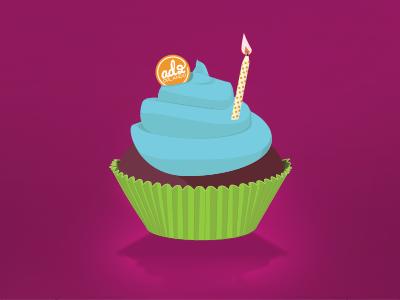Cupcake orlando ad2 illustration cupcake