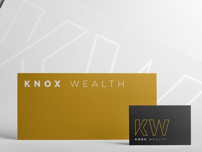 Knox Wealth Logo Design