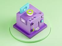 Color Machine - Bubble Gum