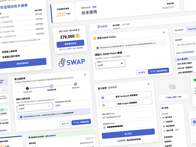 SWAP-UI Overview figma design library interaction dashboard ux ui component ui design system