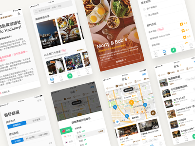 Kapi 2.0 ui  ux ui cafe app