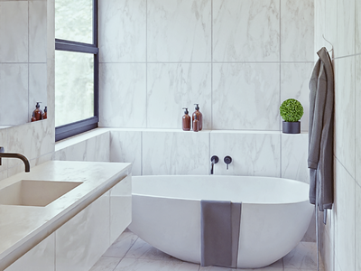 Bathroom archviz  interior cyclesrender pbr b3d cycles archviz interior design interior design blender3d