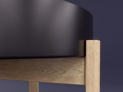 Ypperlig table model cgflux render concept art 3dart painter substance blender design archviz visualization interior