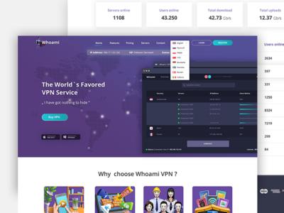 Whoami VPN - Secure connection for end clients secure japan whoami landingpage vpn