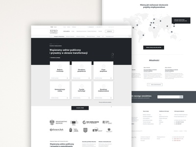 EPRD - Consulting company wireframes adobe xd landing page xd corporate polish landingpage wireframes