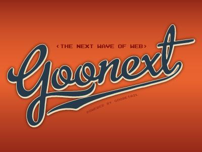 Goonext Badge2 branding corporate profile logotype