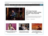 Backstage - Editorial Homepage