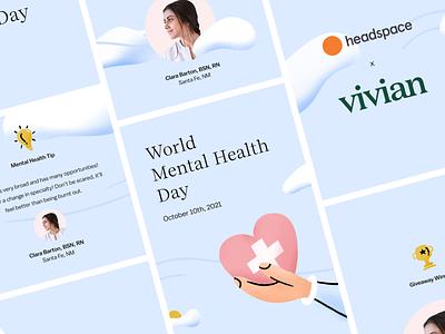 World Mental Health Day mental health empower ad facebook instagram social marketing nurses branding campaign