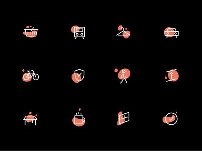 Amenities Icon Set