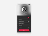 Daily UI #007 — App Settings