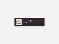 Daily UI #009 — Spotify Mini Concept