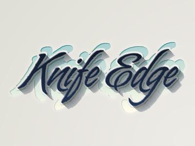 Knife Edge text