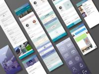Rental App Screens