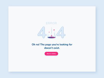 Error404 button illustration ui user application browser 404 error