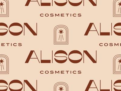 Alison package design packaging vintage minimal typography type branding icon design logo cosmetics