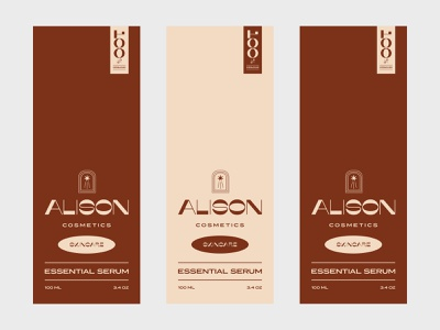 Alison Packaging package design cosmetics typography vintage branding icon design logo