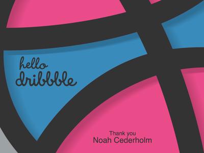 ¡Hola Dribbble! debut