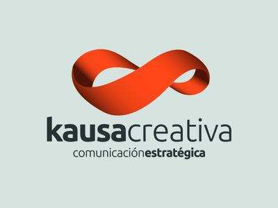 Kausa Creativa möbius strip studio brand