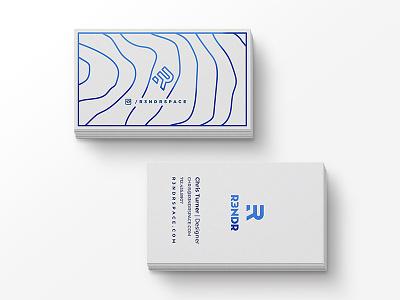 R3NDR Cards branding business card print