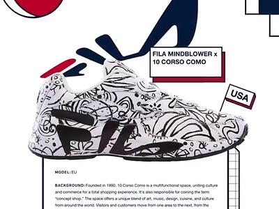Fila #mindbreaker fila typography motion ui design animation